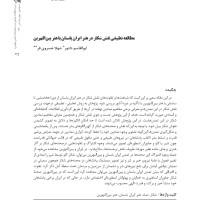 کتاب مطالعه تطبیقی نقش شکار در هنر ایران باستان با هنر بین ال نهرین
