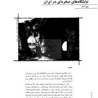 کتاب نیایشگاه های صخره ای در ایران